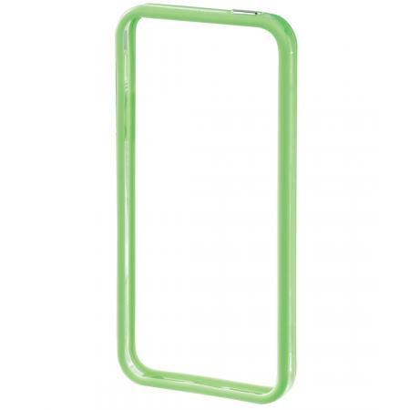 iPhone 5 - Edge Protector Kleur: Groen/Transparant