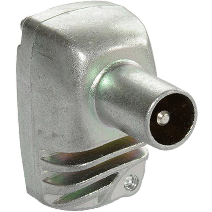 Image of Coax stekker - Male - Haaks - Tratec
