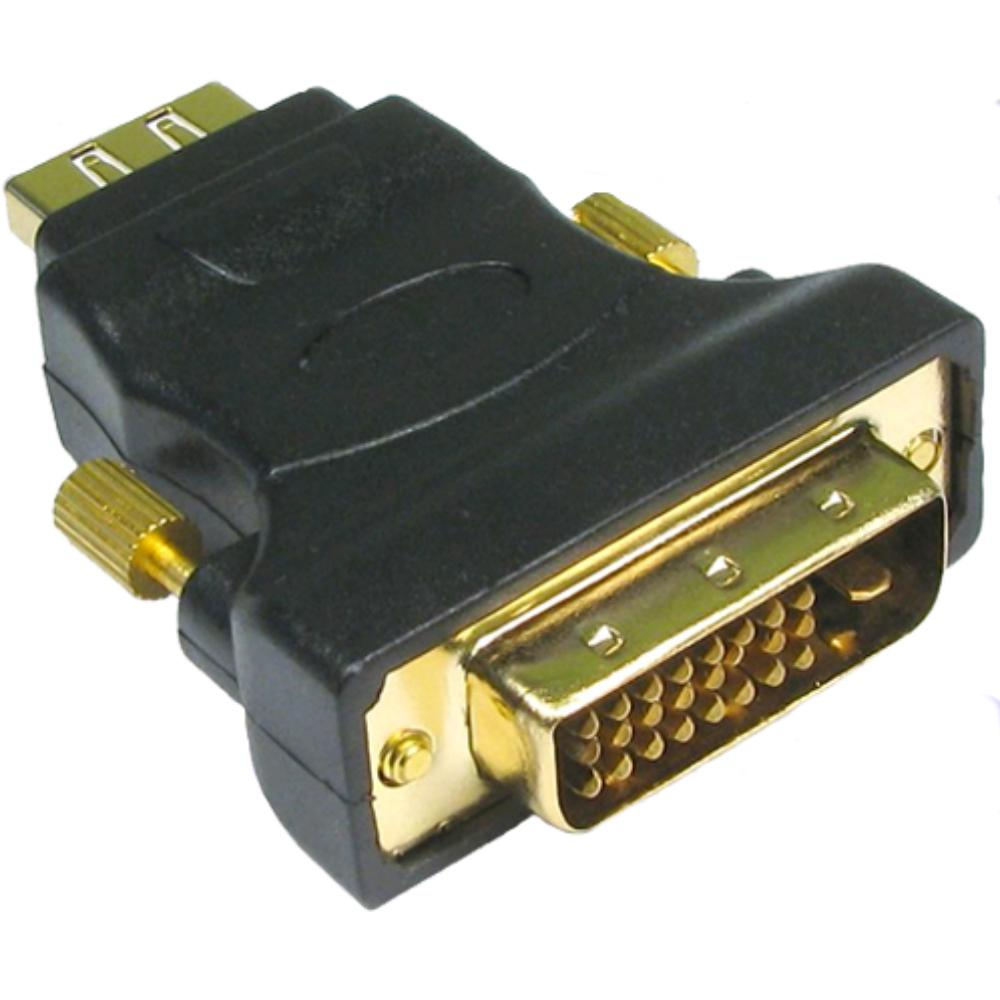 HDMI MALE - DVI FEMALE ADAPTER - profigold Verguld