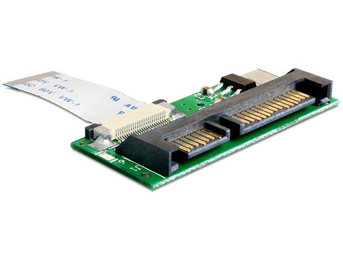Image of 24-Polig LIF naar 22-Polig SATA adapter - Delock