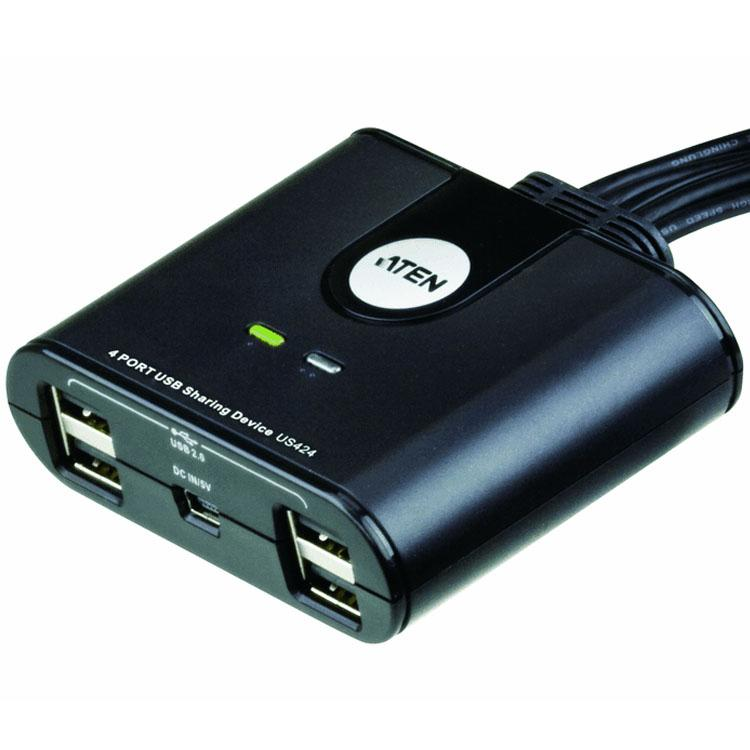 Image of 4-poorts USB 2.0-switch voor randapparatuur - Aten