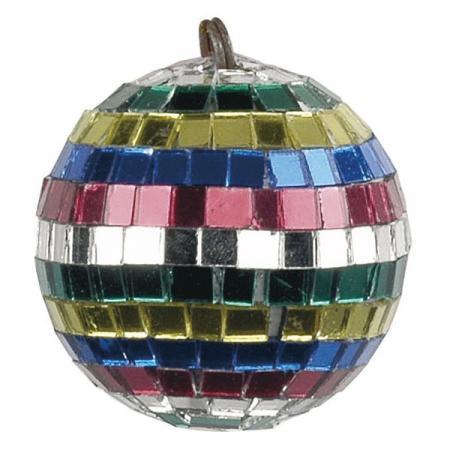 Image of Multicoloured Mirrorball 5 cm - Showtec