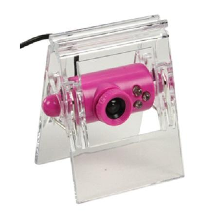 USB 2.0 webcam roze