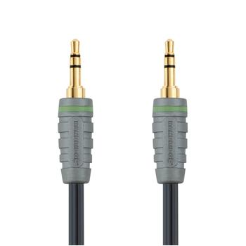 Image of Audiokabel voor draagbaar apparaat 1.0 m - Bandridge