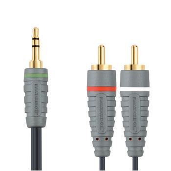 Audiokabel voor draagbaar apparaat 1.0 m 1 meter