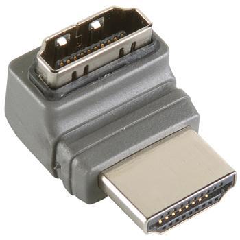 Image of 270 Haakse Hoge Snelheids HDMI® Adapter met Ethernet - Bandridge