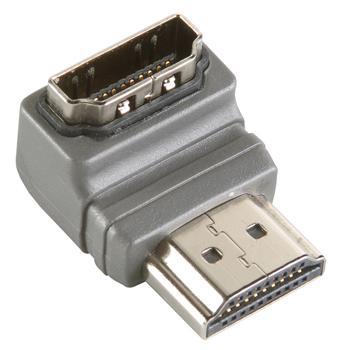 Image of 90 Haakse Hoge Snelheids HDMI® Adapter met Ethernet - Bandridge
