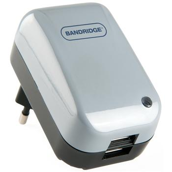 Image of 2-weg USB-voedingsadapter met hoge stroom - Bandridge