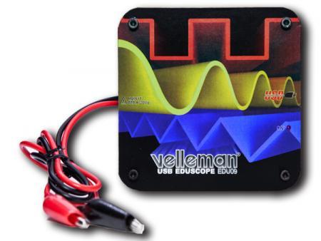 Image of Educatieve oscilloscoopkit voor de pc Velleman EDU09