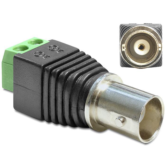 Image of BNC naar schroefaansluiting adapter - Delock