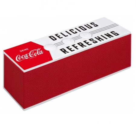 COCA COLA BT01-4 BLUETOOTH SPEAKER met fraaie Coca Cola uitstraling