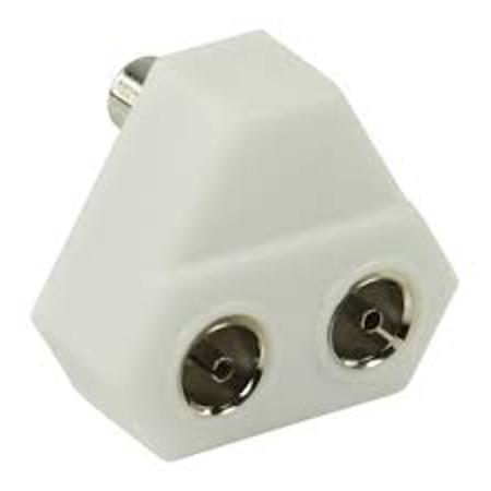 Image of Coax splitter - Radio - 2-weg - HQ product