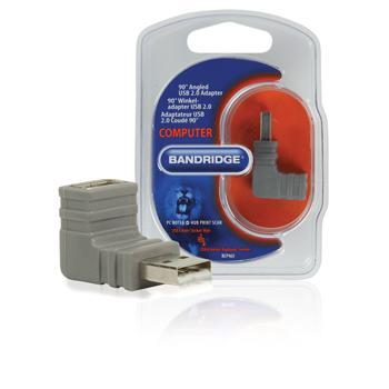 Image of 90 Haakse USB 2.0 Adapter - Bandridge
