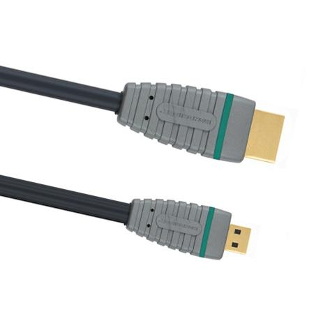 HDMI Micro 1.4 Kabel (high speed) 2 Meter