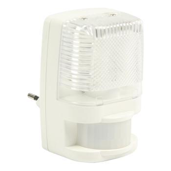 Lamp met bewegingssensor stopcontact