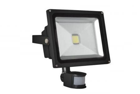 Image of Led-schijnwerper Voor Buitenshuis Met Pir-sensor - 30 W Epistar Chip - 6500 K