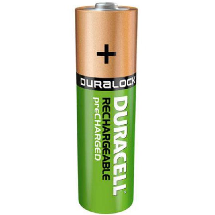 Image of 4 x AAA Duracell oplaadbaar - Ultra - Stays Charged - 850mAh