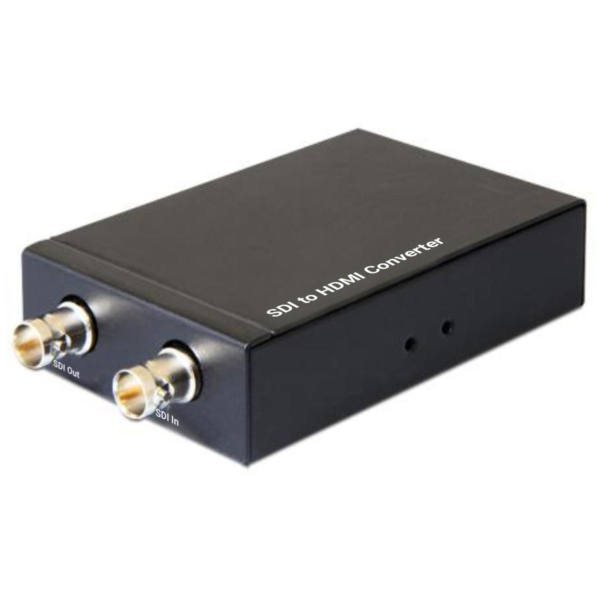 SDI naar HDMI omvormer SDI compatibel: SD-SDI, HD-SDI en 3G-SDI