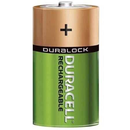 Image of D Batterij oplaadbaar - Duracell