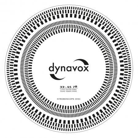 Image of LP speler stroboscoopschijf - Dynavox