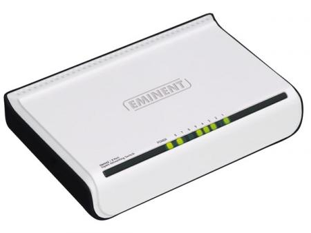 8-Port GIGABIT Netzwerk-SWITCH Eminent