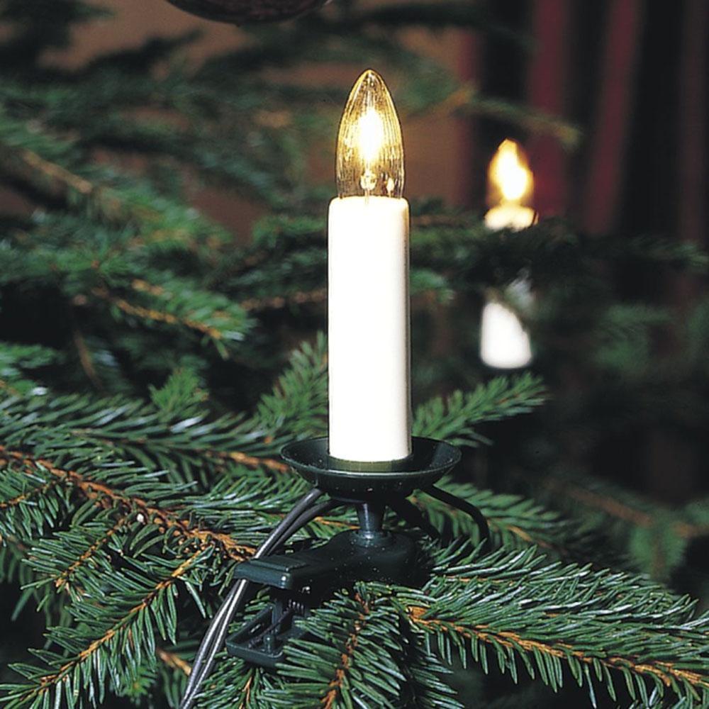 Kerstboomverlichting - Kaars Verlichte Lengte: 7.50 meter