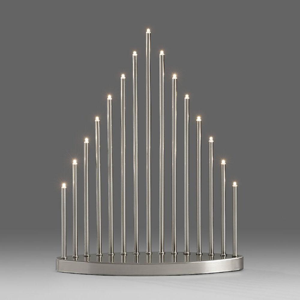 Kerst Kandelaar Afmeting: H38 x B30 cm