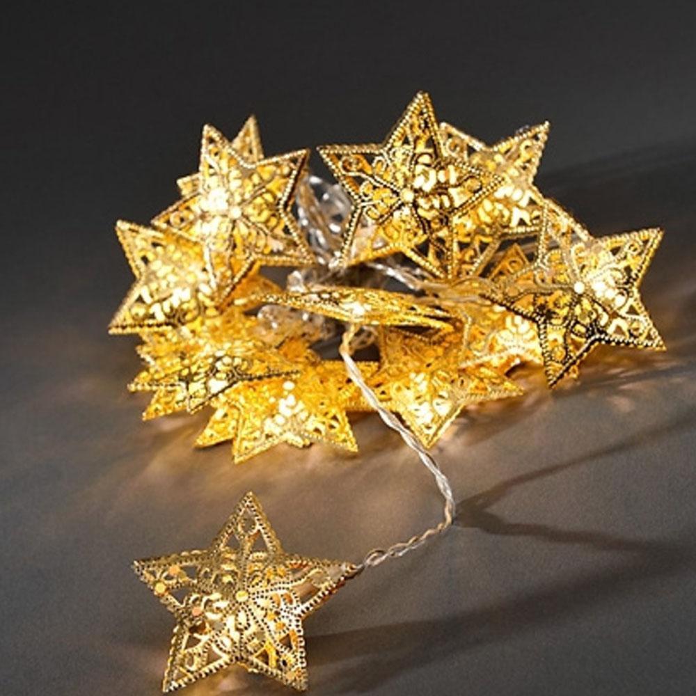 Kerst Decoratieverlichting - Ster Verlichte Lengte: 3 Meter