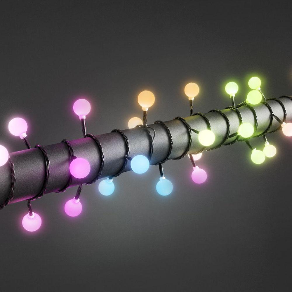 Image of Decoratief - 7 meter verlicht - Gekleurde lampen - Konst Smide