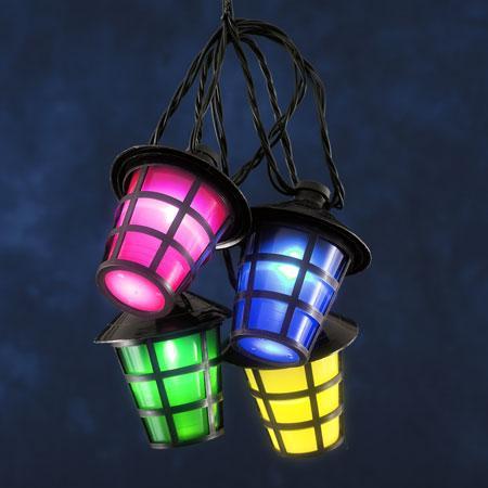 Image of Decoratief - 11 meter verlicht - Gekleurde lampen - KonstSmide