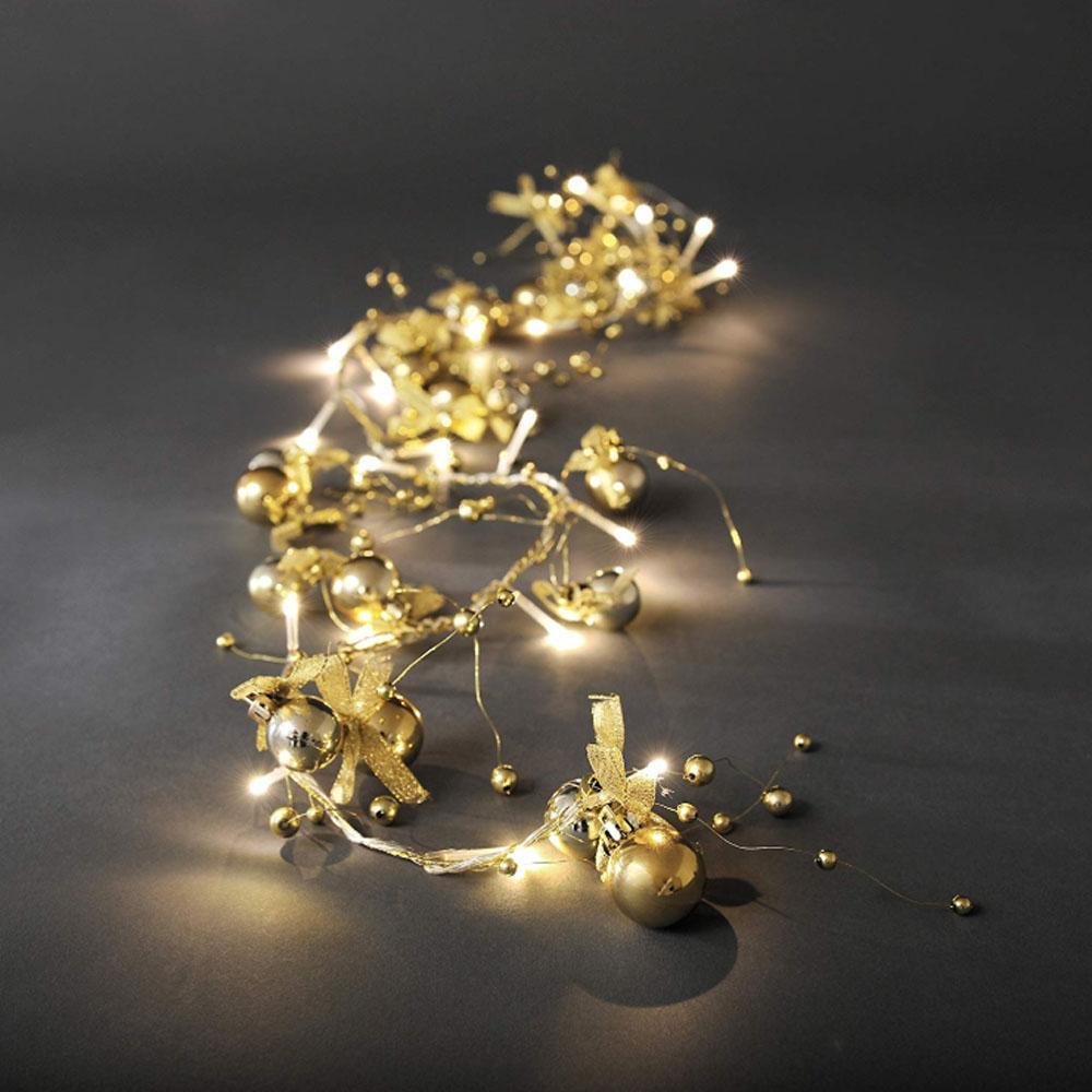 Kerst Decoratieverlichting  Verlichte Lengte: 1.14 meter