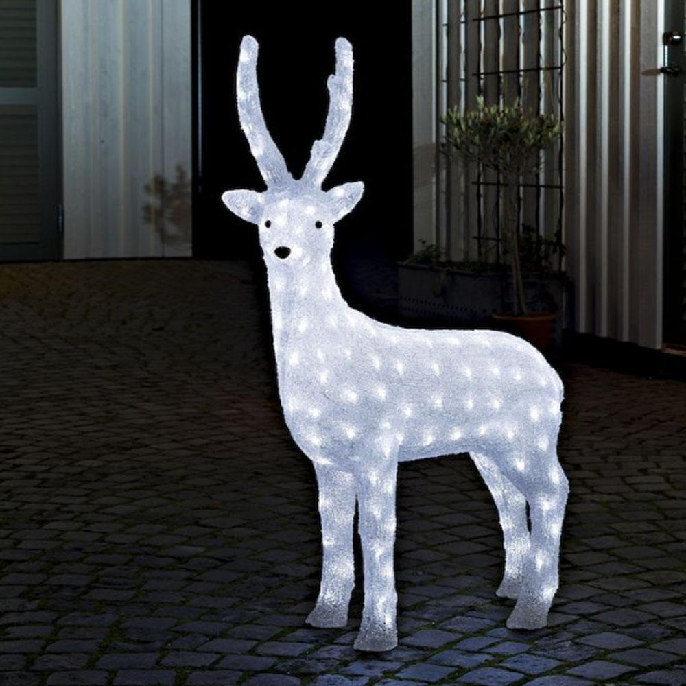 Kerstverlichting - Rendier