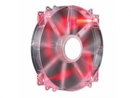 Image of Cooler Master Casefan MegaFlow 200 LED Silent 200mm (rood)