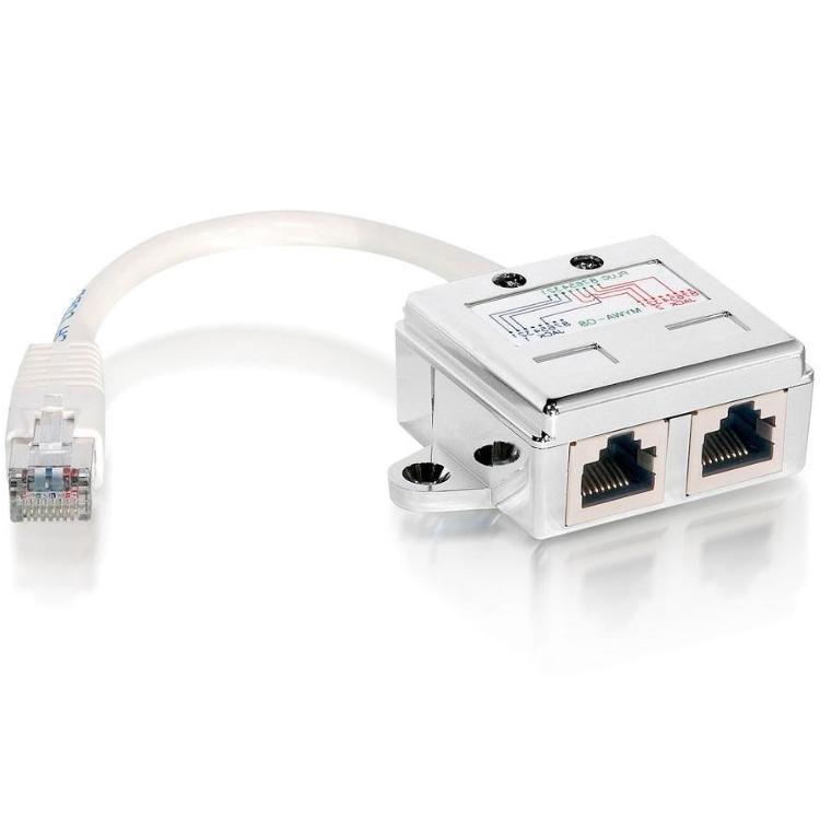 Equip RJ45 Modular T-Adapter STP Cat.5e (127603)