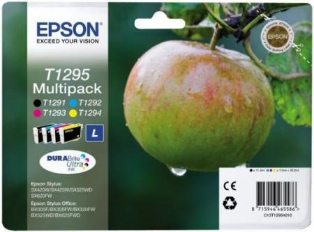 Epson T1295 - Zwart Cyaan Magenta Geel - Epson