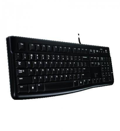 Tastaturen Tas Logitech Keyboard K120 black