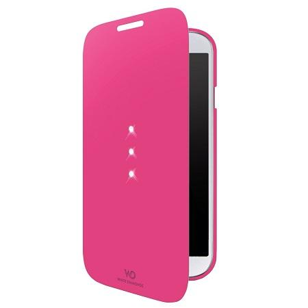 Samsung Galaxy S4 - Flip Cover Kleur: Roze