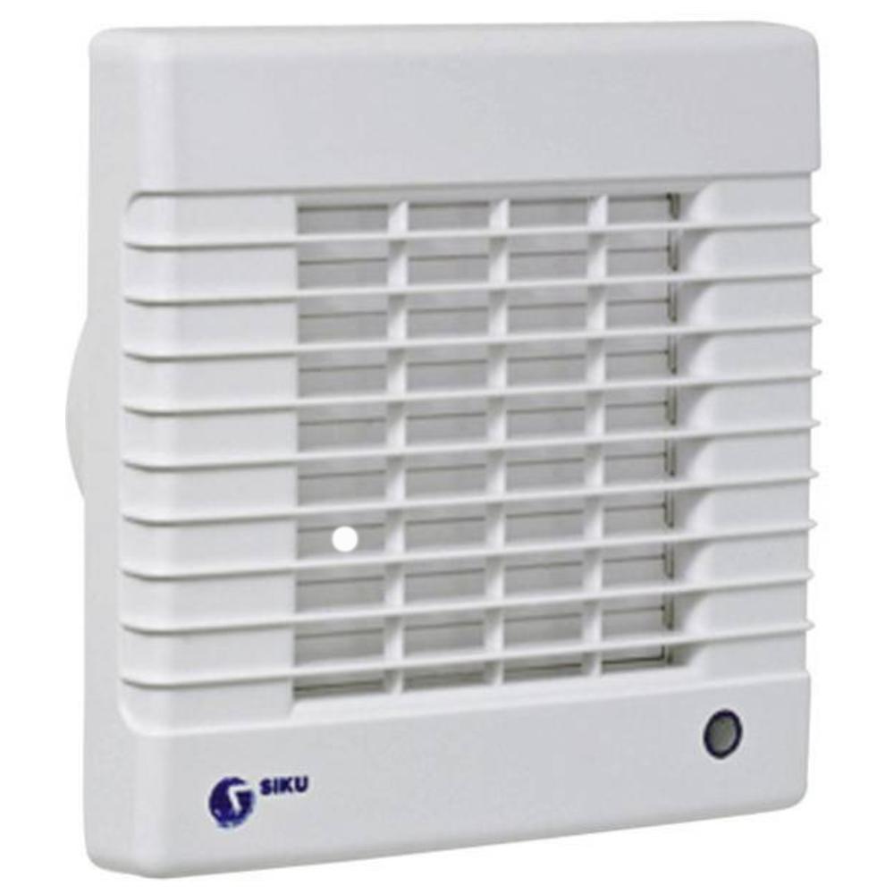 Badkamer Ventilator Test : Badkamer ventilator met timer geschikt voor: badkamer extra: met