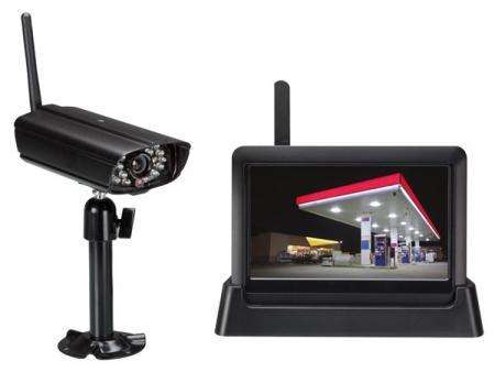 Image of Draadloos IP-beveiligingssysteem - Perel