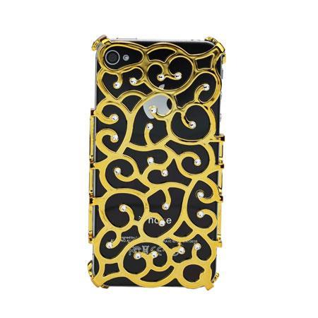 iPhone 4 - Beschermhoes Kleur: Goud