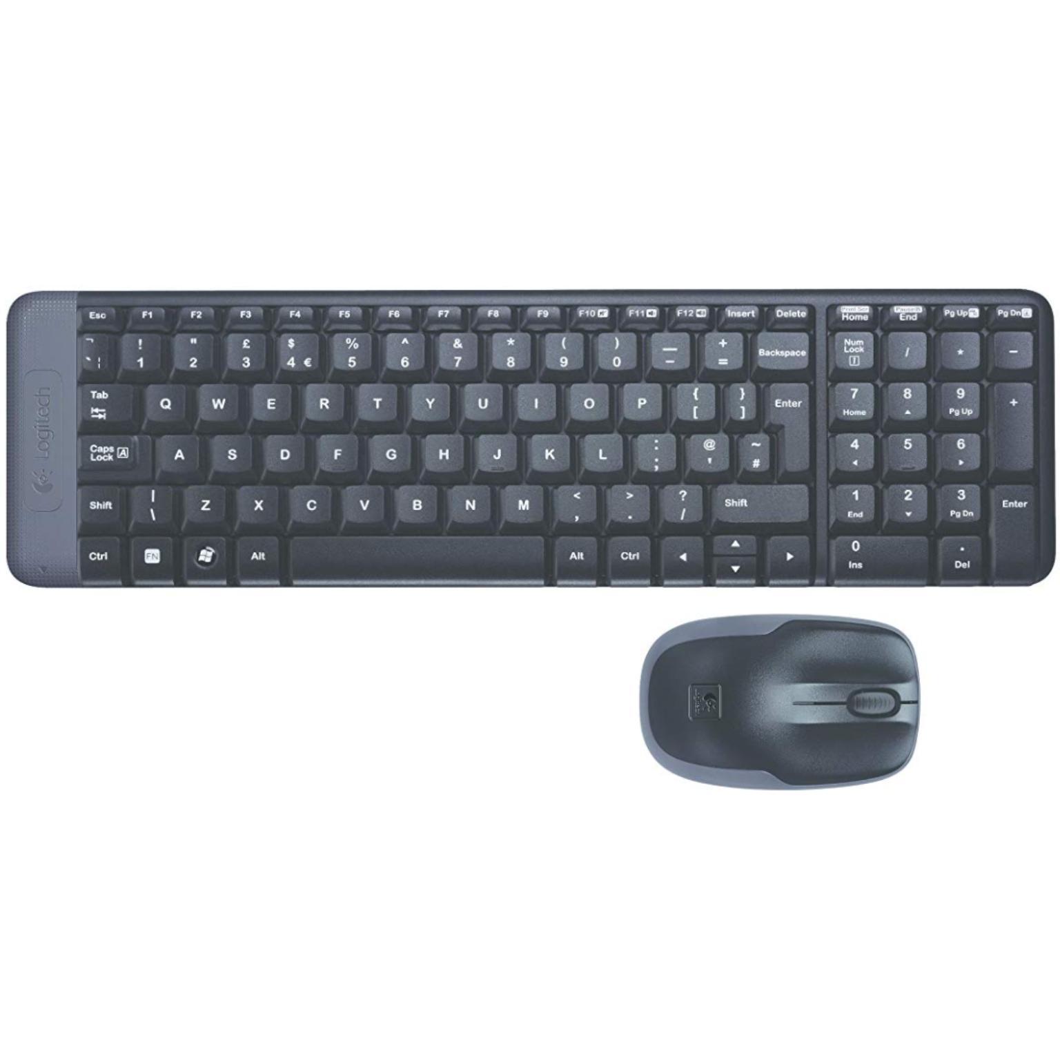Toetsenbord en muis - USB - Logitech