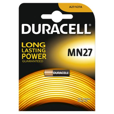 Image of Duracell Batterij Mn27 12V Large Brister 1Pc