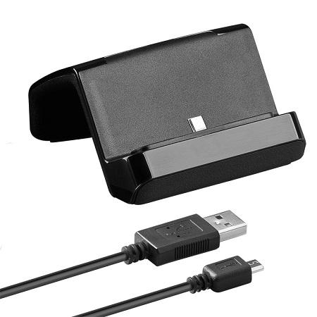 Image of Goobay universeel micro-USB docking-/ laadstation Zwart