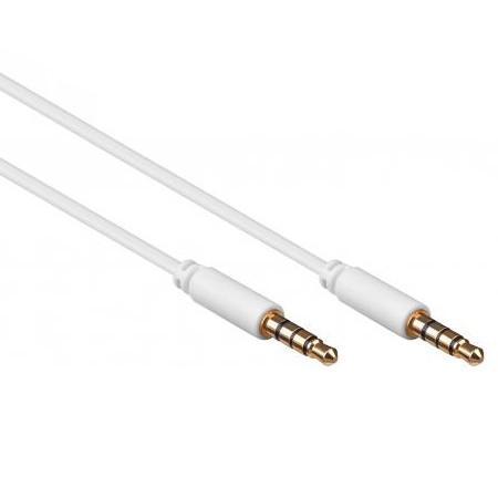Jack kabel 3.5mm - 4-polig - 0.5 meter 0.5 meter