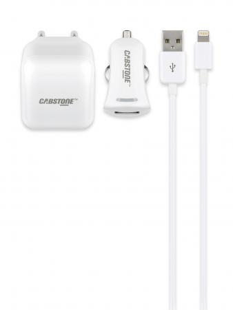 Image of IPhone/iPad Lightning Laadset 1x USB - Cabstone - Cabstone