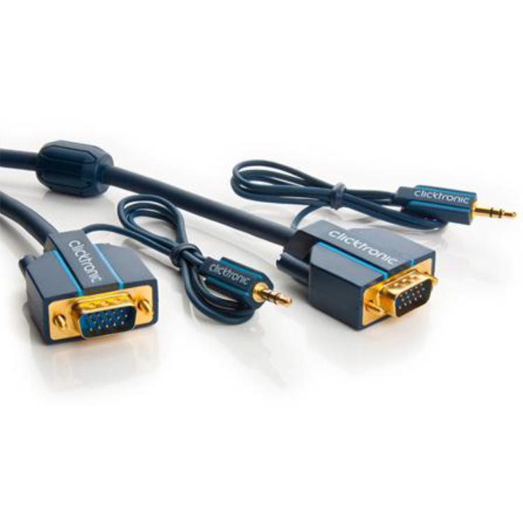 VGA Kabel - Met Audio - Professioneel 2 meter
