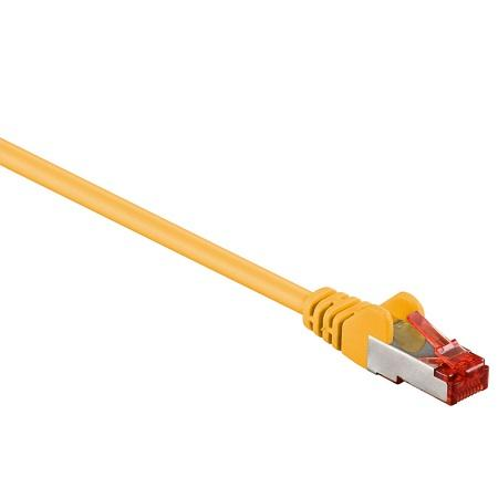 Image of S-FTP - 1.5 meter - Geel - Goobay