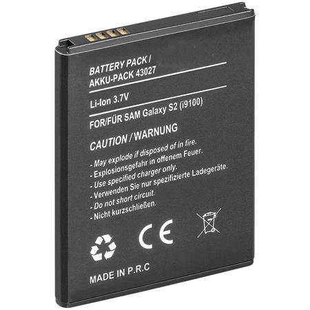 Battery pack for Samsung: Galaxy S II i9100<br>replace EB-F1a2gbu mobilephone battery pack with high performancecells for long stand-by- and working time. Theintegrated portection unit protect the batterypack completely.replacement for the following battery models:Samsung: EB-F1a2gbusuitable for the following devices:Samsung: Galaxy S II i9100