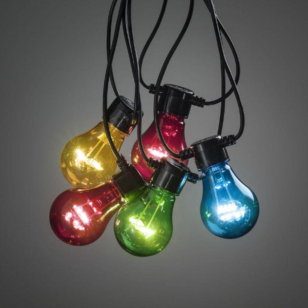 Lichtketting - Multicolor - 9 meter