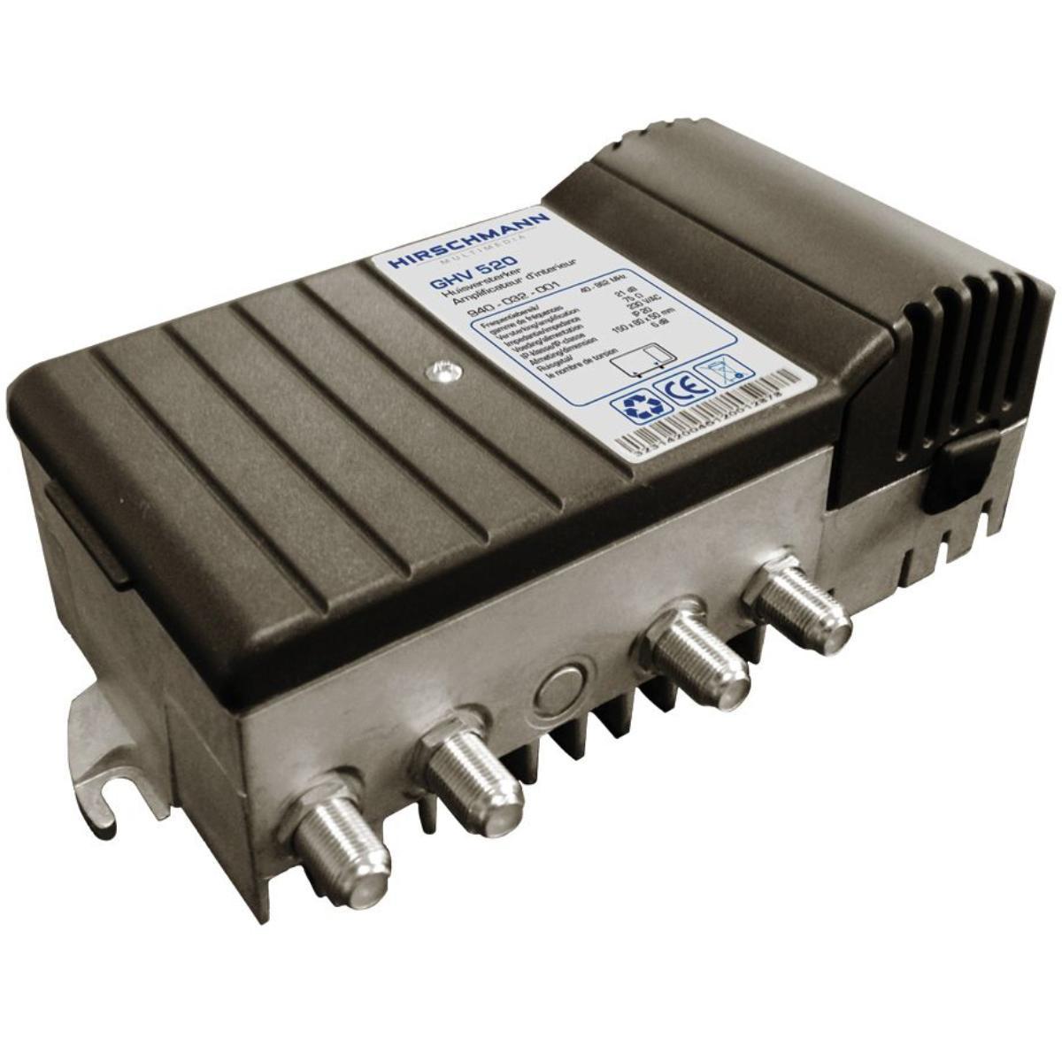 Antenne versterker - Professioneel - 1 uitgang Versterking: 21 dB